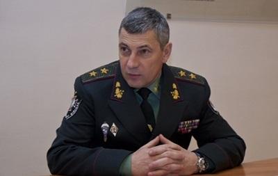 Турчинов сменил командующего Внутренних войск Украины