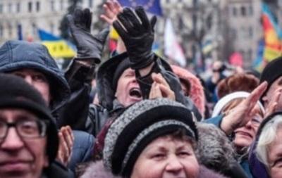 В Харькове на митинге произошла потасовка между сторонниками и противниками Майдана