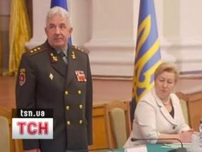 Ющенко представил нового главу Генштаба