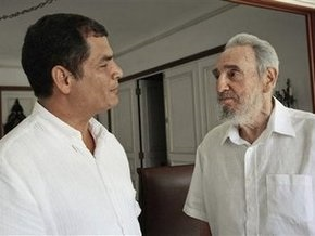 Фидель Кастро впервые за год  появился в телеэфире