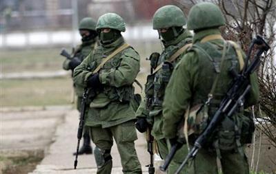 Российские военные заняли воинскую