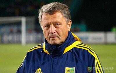 Маркевич: Поставили задачу выиграть чемпионат и Кубок Украины. Сейчас это нереально