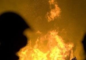 В Киеве горели киоски. МЧС рассматривает версию поджога