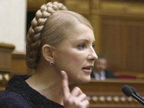 Тимошенко в Брюсселе подписала декларацию по модернизации ГТС