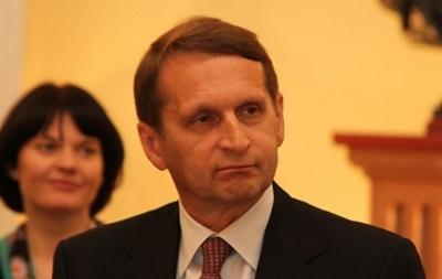 Вводить войска в Украину пока нет необходимости – спикер Госдумы РФ