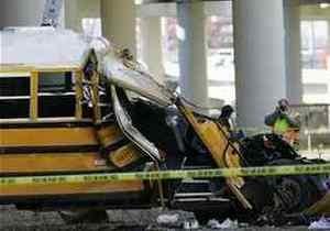 В Сербии автобус врезался в грузовик, 28 пострадавших