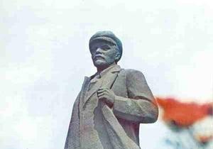 В Херсоне вымыли Ленина