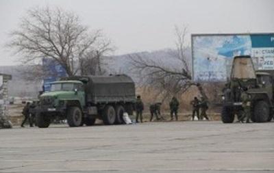 Российские военные покидают керченскую паромную переправу