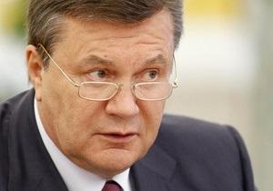 Янукович предлагает ВР ввести госреестр коррупционеров