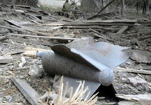 Грузия передала России образцы останков, предположительно принадлежащих сбитому в 2008 году летчику