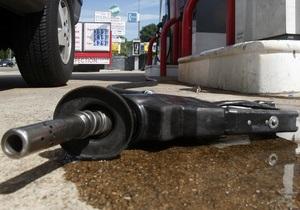В августе в Украине упали продажи бензина