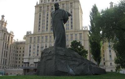 В Москве после реставрации откроется памятник Тарасу Шевченко