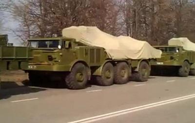 В Сумской области зафиксировано передвижение колонны установок залпового огня