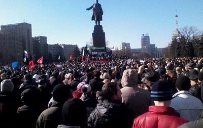 В Харькове избили и обстреляли участников антифашистского митинга
