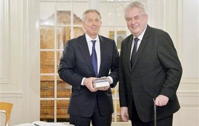 Президент Чехии и экс-премьер Великобритании: Украине необходима федерализация