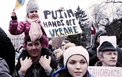 Марш за введение санкций против России