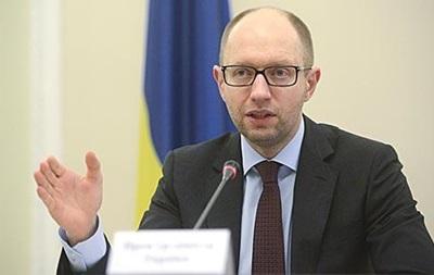 Украина приложит все усилия для мирного урегулирования конфликта с РФ – Яценюк