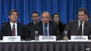Власти Колумбии и ФАРК начали прямые мирные переговоры