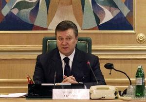 Янукович наградил орденами актеров Заднепровского, Нечипоренко и Бенюка