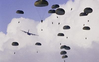 В России начались учения десантников