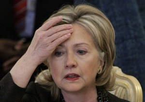 В Киеве частично ограничат движение транспорта в связи с визитом Хиллари Клинтон