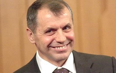 Константинов дал указание силовикам не пускать в Крым представителей Свободы и Правого сектора