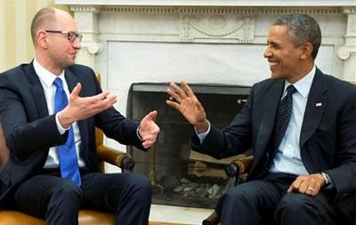 Итоги среды: Яценюк побывал в гостях у Обамы, Беркут признали вне закона и ЕС согласовал санкции против РФ