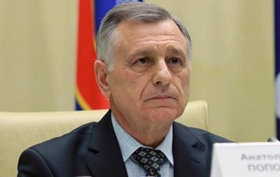 Попов: Таврия и Севастополь могут выступать только в чемпионате Украины