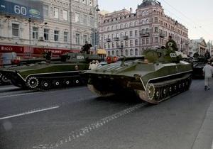 Военный парад в День Победы состоится без прохождения боевой техники
