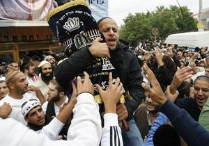 ВО Свобода начинает бессрочную акцию под названием Умань без хасидов