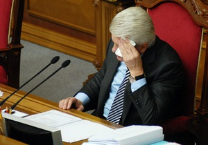 Верховная Рада отклонила предложение выбирать спикера открытым голосованием