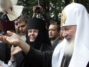 Патриарх Кирилл прибыл в город Корец Ровенской области