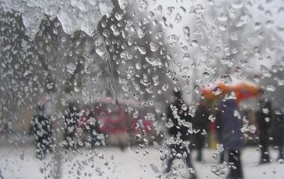 На выходных в Украине ожидается похолодание и мокрый снег