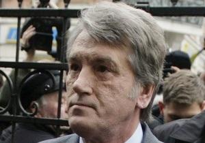 Ющенко заявил, что ему известно, кто его отравил