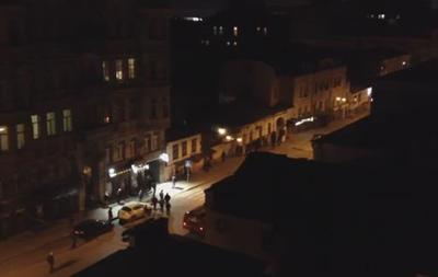 Милиция оцепила место столкновения активистов в Харькове