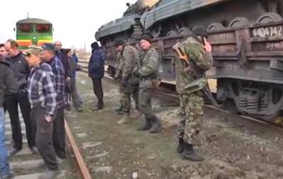Активисты Луганска заблокировали украинский военный поезд