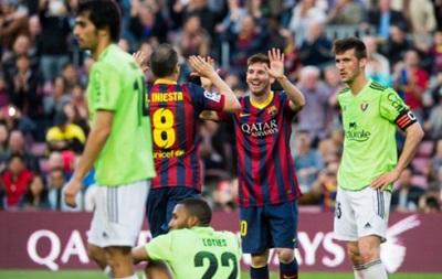 Месси побил столетний бомбардирский рекорд Барселоны