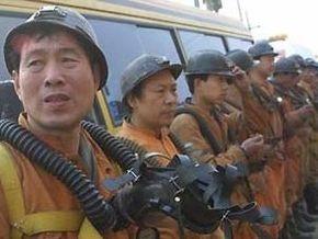 Трое китайских горняков выжили, пробыв 25 дней в затопленной шахте