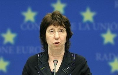 Евросоюз призвал Россию не присоединять Крым - Эштон