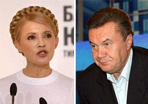 Тимошенко считает Януковича  настоящим злом, которое нависло над Украиной