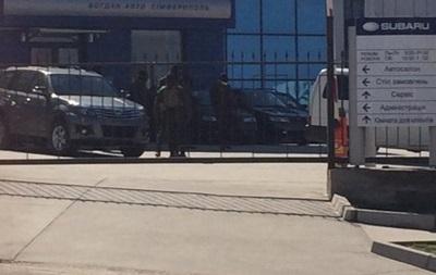 Вооруженные люди в Симферополе захватили предприятие Богдан-Авто
