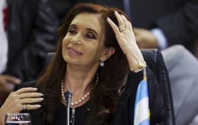 Президент Аргентины обвинила страны, осуждающие референдум в Крыму, в двойных стандартах