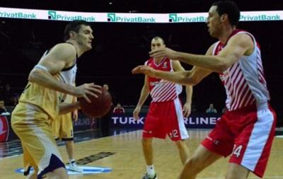 Еврокубок: Будивельник добывает победу в первом матче четвертьфинала