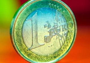 Евро подешевел на 22% за 12 лет