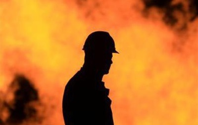 В Киеве горел Дом архитекторов - СМИ