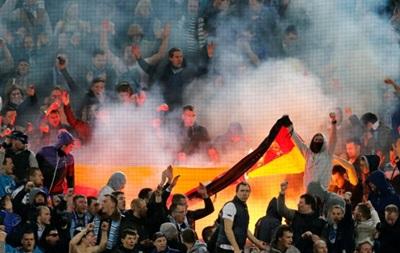 Зенит могут дисквалифицировать за выходку фанатов в Дортмунде