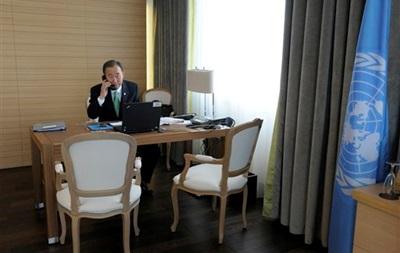 Пан Ги Мун встретится с Путиным