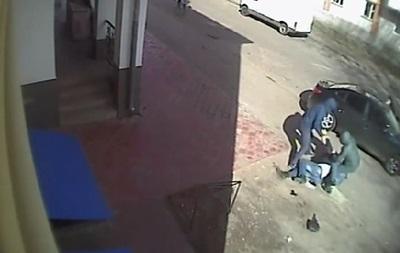 В интернете появилось видео покушения на главу Народной Рады в Миргороде