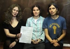 Мировая пресса видит в суде над Pussy Riot фарс