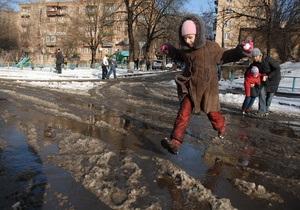 МЧС прогнозирует сильные паводки